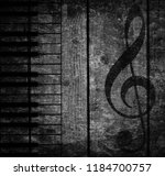 wood musical background | Shutterstock . vector #1184700757