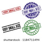 very small size seal stamps...   Shutterstock .eps vector #1184711494