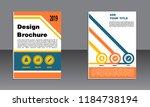 book cover vector modern... | Shutterstock .eps vector #1184738194