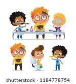 vector set of illustration of... | Shutterstock .eps vector #1184778754