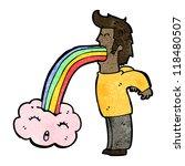 crazy hallucination cartoon | Shutterstock .eps vector #118480507