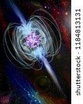 magnetar neutron star with high ...   Shutterstock . vector #1184813131