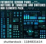 futuristic sensor panel....