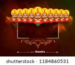 beautiful greeting design for... | Shutterstock .eps vector #1184860531