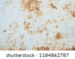old rusted metal surface ... | Shutterstock . vector #1184862787