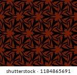 simple modern seamless... | Shutterstock .eps vector #1184865691