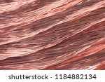 copper wire secondary raw... | Shutterstock . vector #1184882134