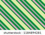seamless pattern green stripes. ... | Shutterstock .eps vector #1184894281