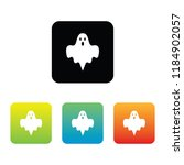 colorful ghost icons