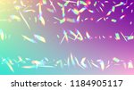 holographic light glitch effect.... | Shutterstock .eps vector #1184905117