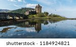 a panorama of the eilean donan... | Shutterstock . vector #1184924821