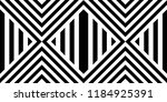 seamless pattern with striped... | Shutterstock .eps vector #1184925391