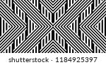 seamless pattern with striped... | Shutterstock .eps vector #1184925397