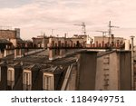 View On Roofs Of Paris With...