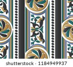 seamless relief sculpture... | Shutterstock .eps vector #1184949937