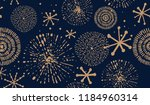 abstract new year pattern.... | Shutterstock .eps vector #1184960314