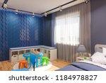 3d render of the children's...   Shutterstock . vector #1184978827