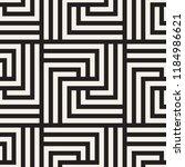 vector seamless pattern. modern ... | Shutterstock .eps vector #1184986621