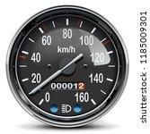 vector black mechanical... | Shutterstock .eps vector #1185009301