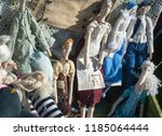 flea market   folk crafts.... | Shutterstock . vector #1185064444