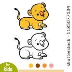 coloring book for children ... | Shutterstock .eps vector #1185077134