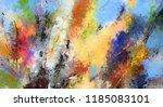 modern art. colorful... | Shutterstock . vector #1185083101