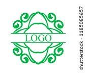 flourishes calligraphic art... | Shutterstock .eps vector #1185085657