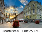 gniezno  greater poland... | Shutterstock . vector #1185097771