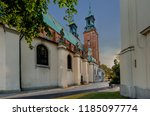 gniezno  greater poland... | Shutterstock . vector #1185097774