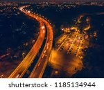aerial panoramic view from... | Shutterstock . vector #1185134944