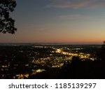 sunset over pigeon forge | Shutterstock . vector #1185139297