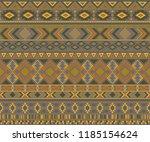 peruvian american indian... | Shutterstock .eps vector #1185154624