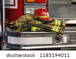 Firefighter Clothes And Helmet...