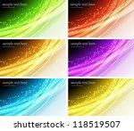 abstract banner | Shutterstock .eps vector #118519507
