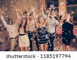elegant nice attractive... | Shutterstock . vector #1185197794