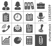 office icons. simplus series.... | Shutterstock .eps vector #118520059