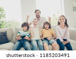 free time video team hooray... | Shutterstock . vector #1185203491