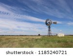 Windmill And Water Tank In...
