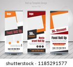 creative business roll up... | Shutterstock .eps vector #1185291577