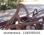 Aged Metal Toothed Ratchets Of...