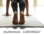 young sporty beautiful woman... | Shutterstock . vector #1185358267