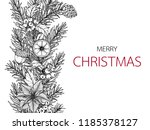 merry christmas day backgrounds ... | Shutterstock .eps vector #1185378127