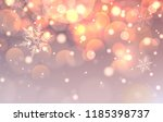 christmas background with...   Shutterstock .eps vector #1185398737