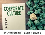 text sign showing corporate... | Shutterstock . vector #1185410251