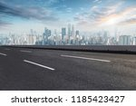 road pavement and chongqing... | Shutterstock . vector #1185423427