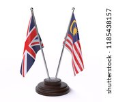 united kingdom and malaysia ... | Shutterstock . vector #1185438157