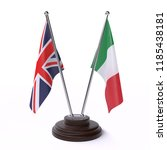 united kingdom and italy  two... | Shutterstock . vector #1185438181