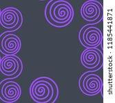 seamless pattern of... | Shutterstock .eps vector #1185441871