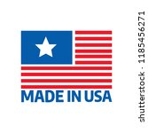 made in usa premium quality... | Shutterstock .eps vector #1185456271