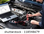 professional car mechanic... | Shutterstock . vector #118548679